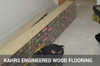 supply and fit kahrs engineered floor
