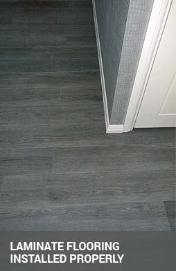 laminate flooring and beading