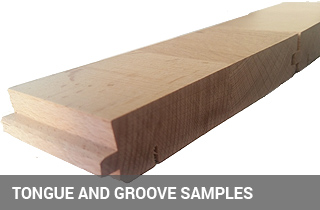 What are the benefits of tongue and groove system