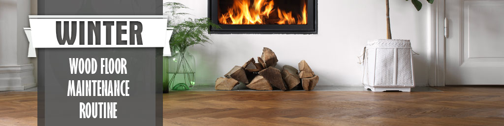 Proper care for wood flooring during winter