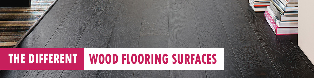 different floor surfaces